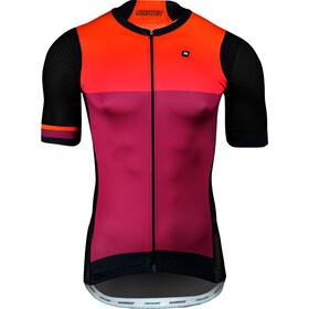 Biehler Pro Team Maglietta da ciclismo Uomo, leuchtstoff